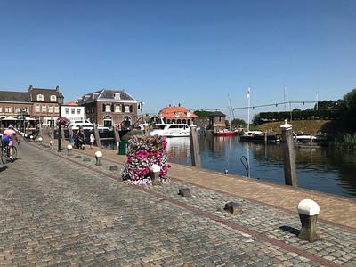 Racefiets toer - Willemstad 03-08-2018