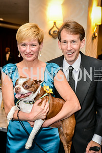 Darci Spasojevich, Reed Overfelt, 27th Annual Bark Ball, hosted by the Washington Humane Society, Washington Hilton, Saturday, June 14, 2014.  Photo by Ben Droz.