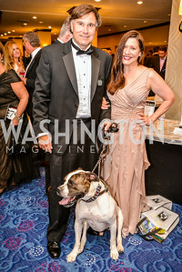 Rany Williams, Lisa Hayes, 27th Annual Bark Ball, hosted by the Washington Humane Society, Washington Hilton, Saturday, June 14, 2014.  Photo by Ben Droz.