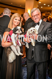 Beth Viola, Mike McAdams, 27th Annual Bark Ball, hosted by the Washington Humane Society, Washington Hilton, Saturday, June 14, 2014.  Photo by Ben Droz.