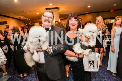 Bob Frees, Roseamary Franz, 27th Annual Bark Ball, hosted by the Washington Humane Society, Washington Hilton, Saturday, June 14, 2014.  Photo by Ben Droz.