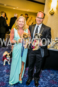Nancy Riegle, Greg Riegle, 27th Annual Bark Ball, hosted by the Washington Humane Society, Washington Hilton, Saturday, June 14, 2014.  Photo by Ben Droz.