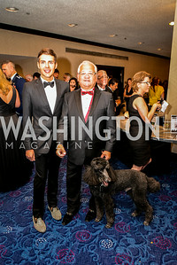 Brad Marlow, Joe Kinnarney, 27th Annual Bark Ball, hosted by the Washington Humane Society, Washington Hilton, Saturday, June 14, 2014.  Photo by Ben Droz.