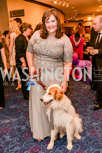 Holly Cirame, 27th Annual Bark Ball, hosted by the Washington Humane Society, Washington Hilton, Saturday, June 14, 2014.  Photo by Ben Droz.
