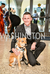Lenny Wrigley, 27th Annual Bark Ball, hosted by the Washington Humane Society, Washington Hilton, Saturday, June 14, 2014.  Photo by Ben Droz.