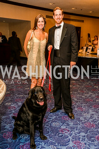 Kristin Hoddinott, Aby Dyk,  27th Annual Bark Ball, 2014.  Photo by Ben Droz., 2014.  Photo by Ben Droz. Jonathan Taylor, hosted by the Washington Humane Society, Jonathan Taylor, June 14, Saturday, Washington Hilton