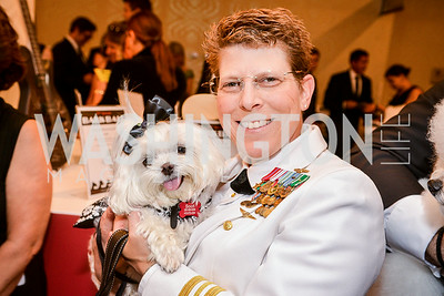 Risa Simon, 27th Annual Bark Ball, hosted by the Washington Humane Society, Washington Hilton, Saturday, June 14, 2014.  Photo by Ben Droz.