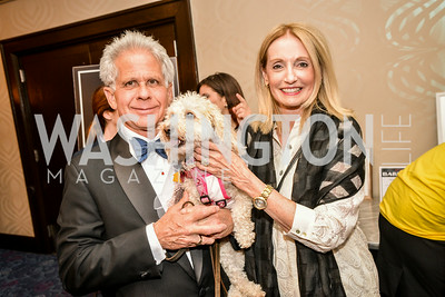 Don Friedman, Rhona Friedman, 27th Annual Bark Ball, hosted by the Washington Humane Society, Washington Hilton, Saturday, June 14, 2014.  Photo by Ben Droz.