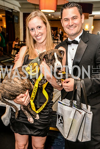 Kristina Finey, Nicholas Rosinia, 27th Annual Bark Ball, 2014.  Photo by Ben Droz., 2014.  Photo by Ben Droz. Jonathan Taylor, hosted by the Washington Humane Society, Jonathan Taylor, June 14, Saturday, Washington Hilton
