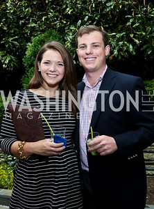 Brooke Jones, Kevin Swanson. Photo by Tony Powell. 2nd Annual Marina Orth Foundation Benefit. Orth Residence. May 18, 2014