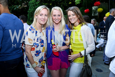 Emily Andrews, Kate Berry, Kelli McNeely. Photo by Tony Powell. 2nd Annual Marina Orth Foundation Benefit. Orth Residence. May 18, 2014