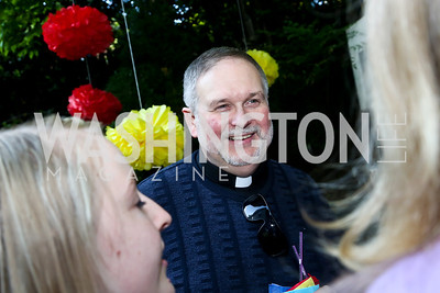 Father Steve Shafran. Photo by Tony Powell. 2nd Annual Marina Orth Foundation Benefit. Orth Residence. May 18, 2014