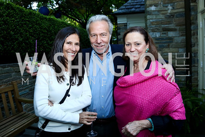 Lilliana Madrigal, Mark Plotkin, Lizette Corro. Photo by Tony Powell. 2nd Annual Marina Orth Foundation Benefit. Orth Residence. May 18, 2014