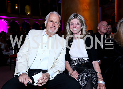 Jack Davies, Kay Kendall. Photo by Tony Powell. 30th Annual Helen Hayes Awards. Building Museum. April 21, 2014