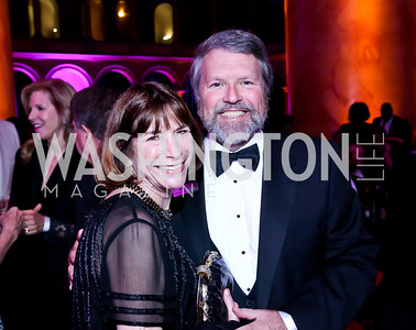 Lauren and Glen Howard. Photo by Tony Powell. 30th Annual Helen Hayes Awards. Building Museum. April 21, 2014
