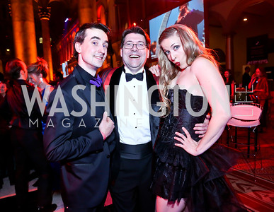 Thomas Nikramat, Neal Raciappo, Kathryn Kelly. Photo by Tony Powell. 30th Annual Helen Hayes Awards. Building Museum. April 21, 2014