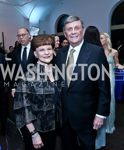 Arlene and Bob Kogod. Photo by Tony Powell. 30th Annual Helen Hayes Awards. Building Museum. April 21, 2014