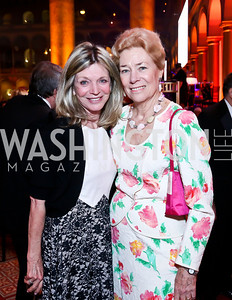 Kay Kendall, Dorothy McSweeney. Photo by Tony Powell. 30th Annual Helen Hayes Awards. Building Museum. April 21, 2014