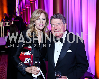 Jane and Calvin Cafritz. Photo by Tony Powell. 30th Annual Helen Hayes Awards. Building Museum. April 21, 2014
