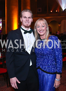 Jamie and Helen MacArthur. Photo by Tony Powell. 30th Annual Helen Hayes Awards. Building Museum. April 21, 2014
