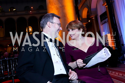 Chris Walters, Linda Levy Grossman. Photo by Tony Powell. 30th Annual Helen Hayes Awards. Building Museum. April 21, 2014