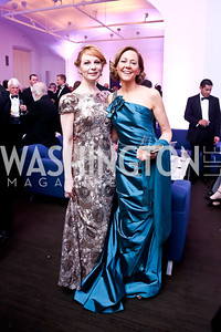 Susan Lynskey, Kim Schraf. Photo by Tony Powell. 30th Annual Helen Hayes Awards. Building Museum. April 21, 2014