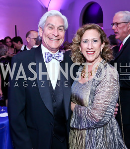 Dave and Peggy Shiffrin. Photo by Tony Powell. 30th Annual Helen Hayes Awards. Building Museum. April 21, 2014