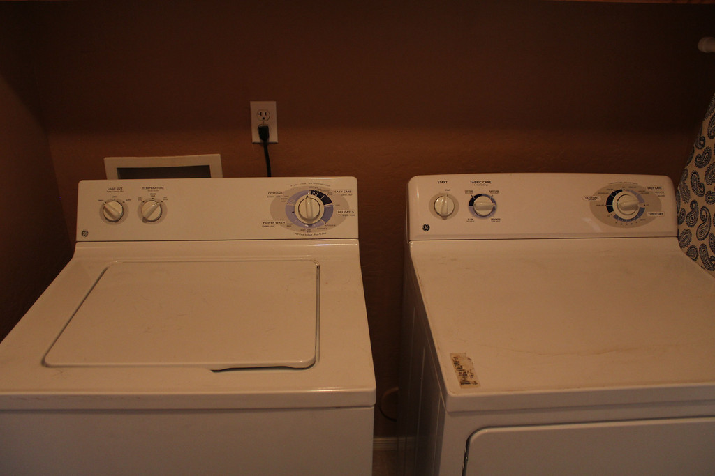 Craigslist // Goodwill washer & dryer