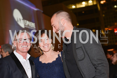 Robert Shields, Kim Ward, Brian Fell, 33rd Annual, Washington Project for the Arts, Art Auction, Gala, SELECT, at, Artisphere, Saturday, March 22, 2014,  Photo by Ben Droz.