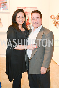 Helene Felber, Andrew Felber, 33rd Annual, Washington Project for the Arts, Art Auction, Gala, SELECT, at, Artisphere, Saturday, March 22, 2014,  Photo by Ben Droz.