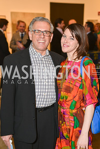 Frank Ognibene, Deena Odelle Hyatt,  33rd Annual, Washington Project for the Arts, Art Auction, Gala, SELECT, at, Artisphere, Saturday, March 22, 2014,  Photo by Ben Droz.
