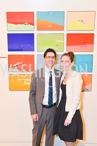 Todd Bianco and Artist Allison Bianco, WPA Gala at Artisphere