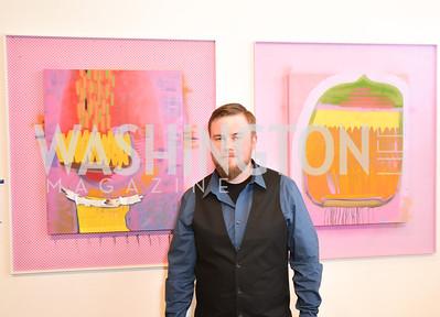 Artist Curtis Miller, WPA Gala at Artisphere