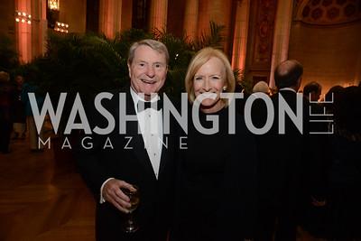 Jim Lehrer and Judy Woodruff.