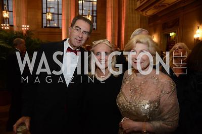 Dr. David Reines, Debbie Dingell and Nina Totenberg.