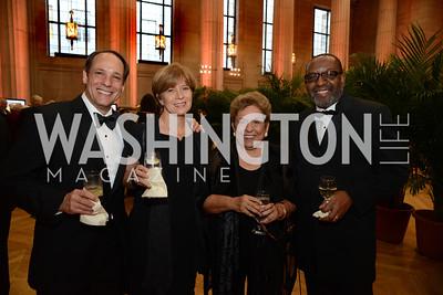 J.J. Yore, Mary Beth Kirchner, Hon. Donna Shalala and Kojo Nnamdi.