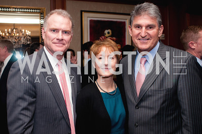 Dan Weekly, Ann Loomis, Senator and Honoree Joe Manchin