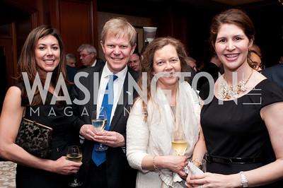 Stephanie Nye, Ambassador Bjorn Lyrvall, Madeline Lyrvall, Lindsay Angerholzer