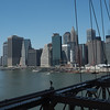 The Financial District form the Brooklyn Bridge