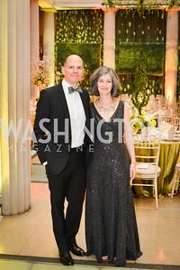 Robert Walton, Jessica Walten, 59th Annual Corcoran Ball.  Friday, April 25th, 2014.  Photo by Ben Droz.