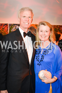 Fred Ryan, Genny Ryan, 59th Annual Corcoran Ball.  Friday, April 25th, 2014.  Photo by Ben Droz.