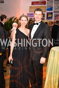 Vera Chernova, Evan Burfield,  59th Annual Corcoran Ball.  Friday, April 25th, 2014.  Photo by Ben Droz.