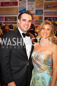 Carl Bedell, Ivy Howells,59th Annual Corcoran Ball.  Friday, April 25th, 2014.  Photo by Ben Droz.