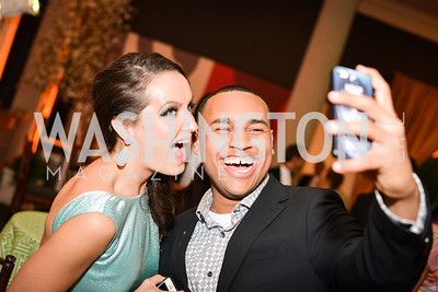 Fran Holuba, Joel Cas, 59th Annual Corcoran Ball.  Friday, April 25th, 2014.  Photo by Ben Droz.