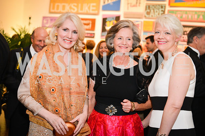 Jan Smith, Ann Flinn, Kim Sajet, 59th Annual Corcoran Ball.  Friday, April 25th, 2014.  Photo by Ben Droz.