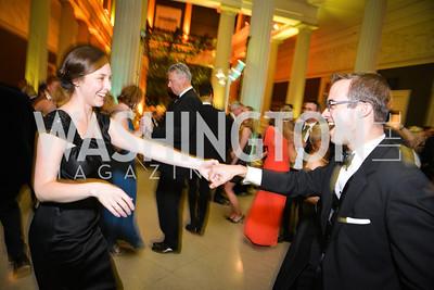 Scott Drenkard, Molly Fuhs, 59th Annual Corcoran Ball.  Friday, April 25th, 2014.  Photo by Ben Droz.