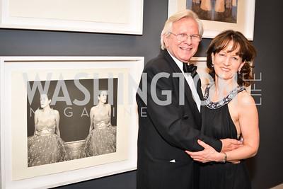 William Dunlap, Deborah Ziska,  59th Annual Corcoran Ball.  Friday, April 25th, 2014.  Photo by Ben Droz.