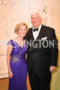 Molly Rolandi, Rick Rolandi,  59th Annual Corcoran Ball.  Friday, April 25th, 2014.  Photo by Ben Droz.