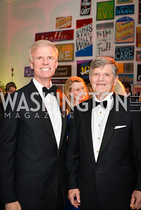 Fred Ryan, Ralph Crosby, 59th Annual Corcoran Ball.  Friday, April 25th, 2014.  Photo by Ben Droz.