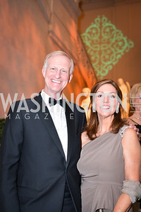 Jack Evans, Michele Evans, 59th Annual Corcoran Ball.  Friday, April 25th, 2014.  Photo by Ben Droz.